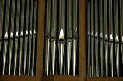 Organ pipes Stock Image