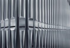 Organ Pipes Close Royalty Free Stock Image