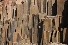 Organ Pipes, Damaraland, Namibia. Stock Photo