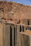 Organ Pipes, Damaraland, Namibia. Stock Photography