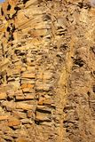 Organ pipes rock formations in Twyfelfontein Valley, Namibia stock photography