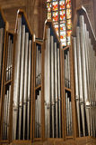Organ pipes, Nuremberg, Germany Stock Images