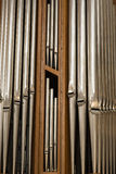 Organ pipes, Nuremberg, Germany Royalty Free Stock Photo