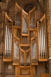 Organ pipes, Nuremberg, Germany Stock Photography