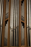Organ pipes, Nuremberg, Germany Royalty Free Stock Photos