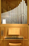 Organ with pipes of porcelain Stock Images