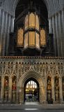 Organ pipes, Ripon Cathedral Stock Photos