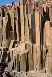 `Organ pipes` geological feature, Namibia. `Organ pipes` rock formation in the Namib desert, Namibia Royalty Free Stock Photography