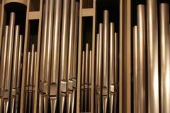 Organ-Rohre Stockbild