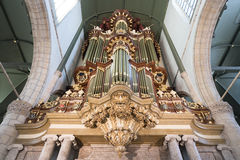 Organ of Saint John church Stock Photography