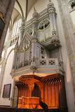 Organ of St. Martins Cathedral in Utrecht Royalty Free Stock Photo