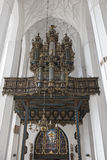 Organ in St. Mary, Gdansk Royalty Free Stock Photo