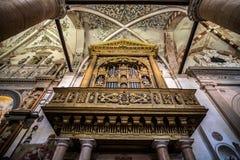 Organ w ctahedral obrazy stock