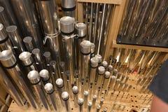 Organ whistles Stock Photo