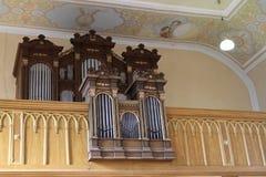 Organe à St Giles photo libre de droits
