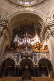 Organe aux DOM berlinois vus de dessous photos libres de droits