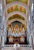 Organe d'église photographie stock