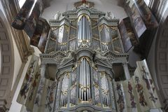 Organe d'église photos stock