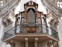 Organe d'église Photo stock