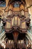 Organe d'église photos stock