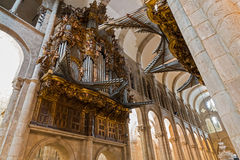 Organe d'église photo stock