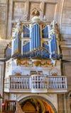Organe d'église d'église de Grilos à Porto images libres de droits