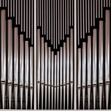 Organe d'église de tuyau photos libres de droits