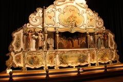 Organe de baril dans le musée d'horloge, Utrecht Photographie stock