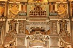 Organe de baril dans le musée d'horloge, Utrecht Photos stock