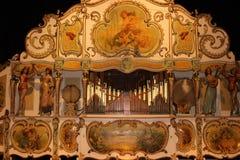 Organe de baril dans le musée d'horloge, Utrecht Image stock