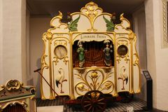 Organe de baril, Utrecht Image stock