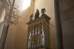 Organe de la cathédrale images libres de droits