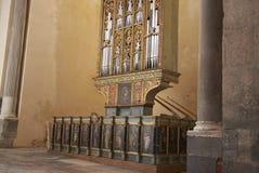 Organe de la cathédrale images stock