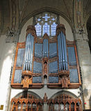 Organe de pipe de chapelle de Rockefeller image libre de droits