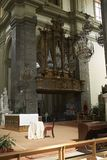 Organe de tuyau de St Dominic image stock