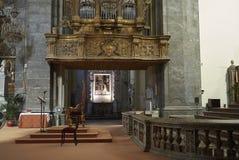 Organe de tuyau de St Dominic images libres de droits