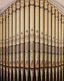 Organe de tuyau de Zion Evangelical Lutheran Church photos libres de droits
