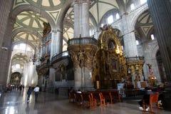 Organe de tuyaux de la cathédrale métropolitaine images stock
