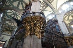Organe de tuyaux de la cathédrale métropolitaine image libre de droits