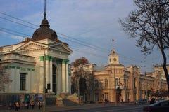 Organe Hall de Chisinau, Moldau image stock