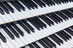 Organe musical photos stock