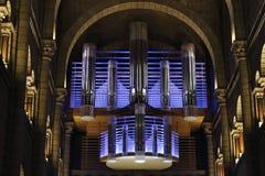 Organe, saint Nicholas Cathedral, Monaco photographie stock libre de droits