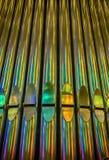Organe saturé par couleur Photo libre de droits