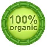 100% organic. Stock Photo