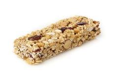 Organic Almond and Raisin Granola Bar Stock Images