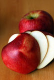 Organic Apple Stock Image