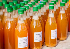 Organic Apple Juice Stock Photos