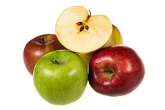 Organic apples Royalty Free Stock Photography