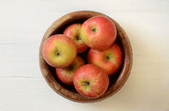 Organic apples Stock Images