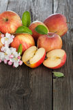 Organic apples Royalty Free Stock Image